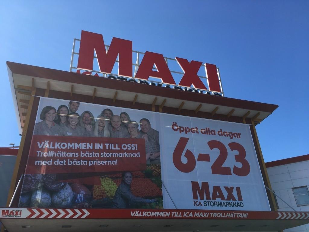 Start | Maxi ICA Stormarknad Trollhättan