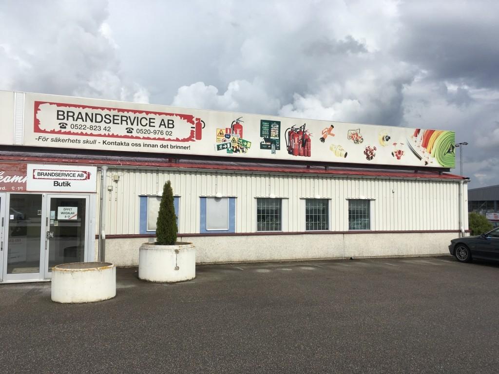 Brandservice AB, Överby, Trollhättan