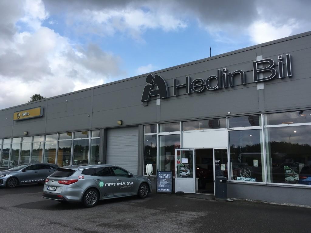 Hedin Bil Bilvaruhuset – Däckringen (Kia, Opel, Nissan), Överby, Trollhättan