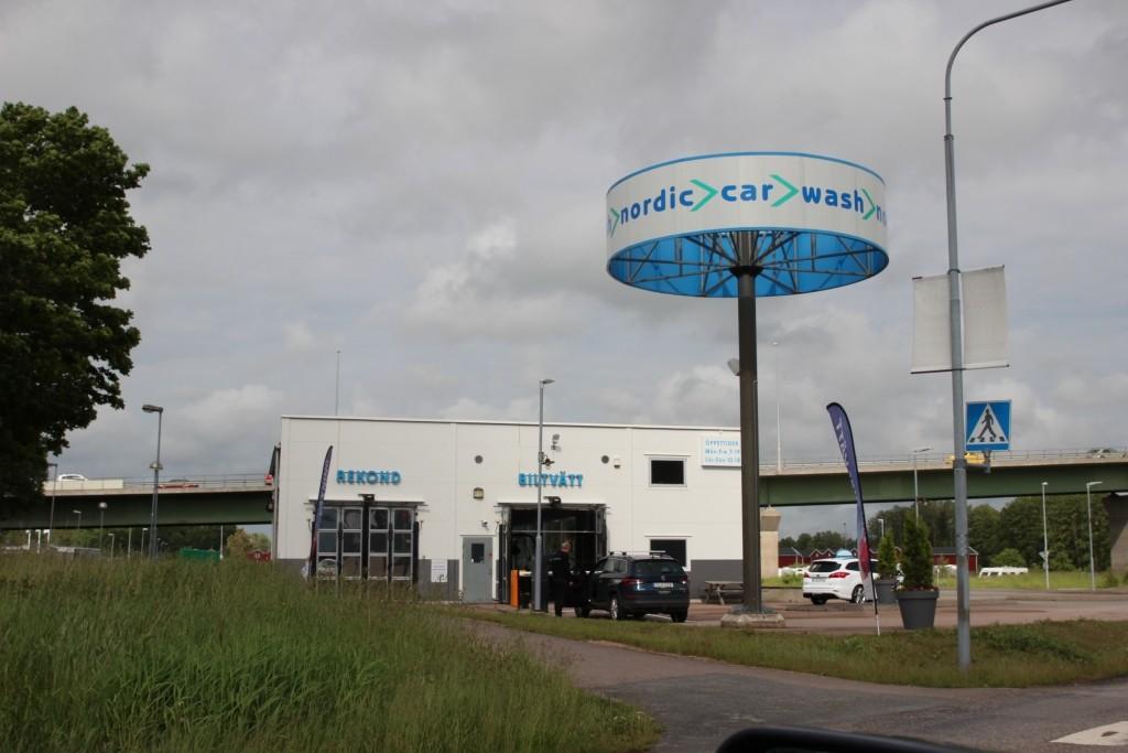 Car wash nordic, Överby, Trollhättan