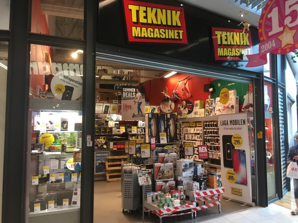Teknikmagasinet, Överby, Trollhättan