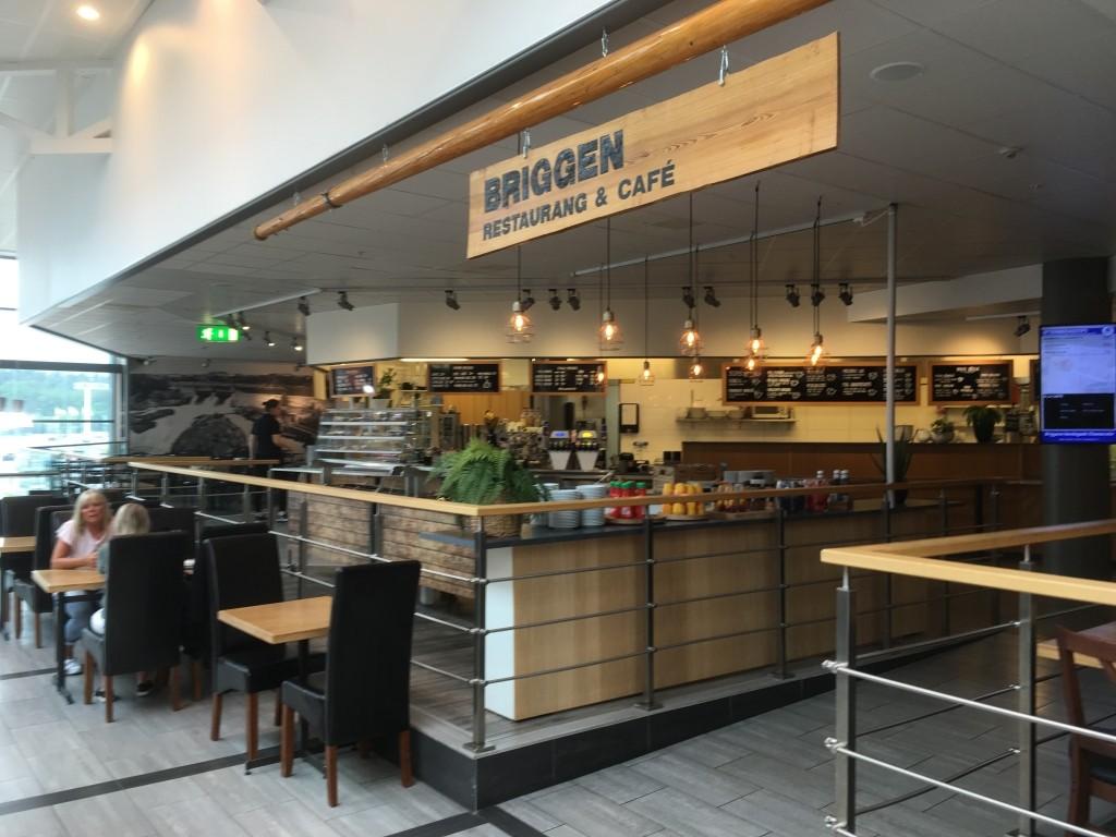 Briggen restaurang & cafe, Överby, Trollhättan