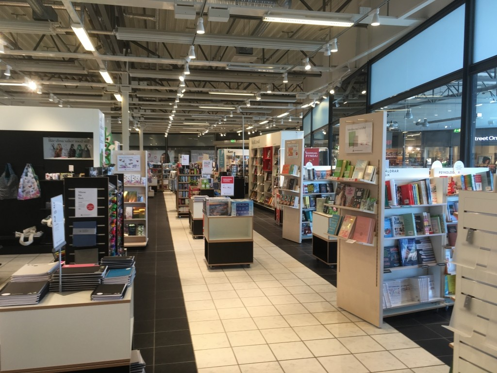 Akademibokhandeln, Överby, Trollhättan